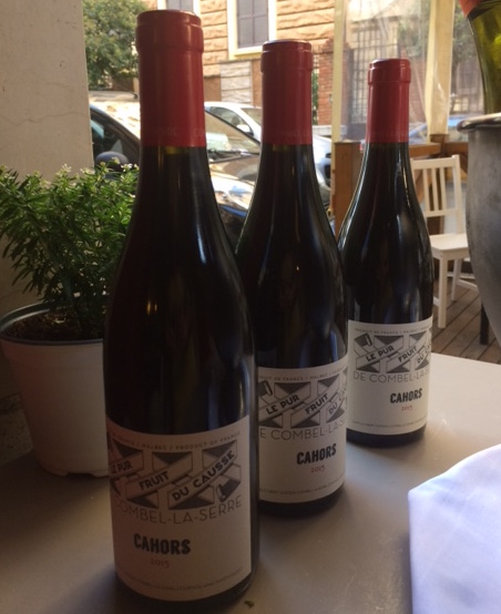 Palatino Bistrot - AOC Cahors 2015 Malbec