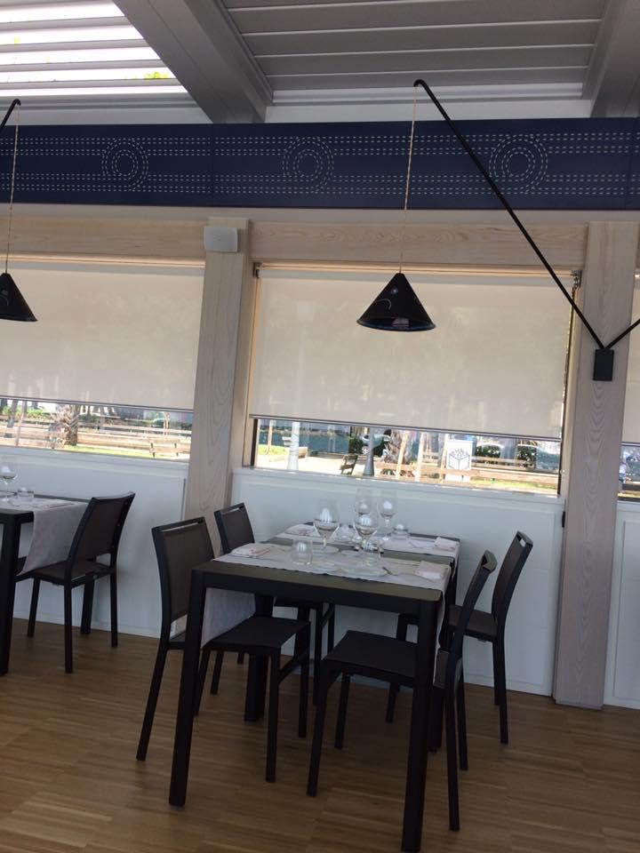 DUBL ristorante, particolare della sala
