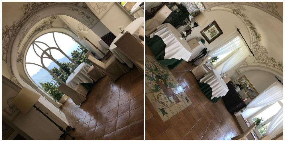 Villa Cimbrone, la sala del Flauto di Pan