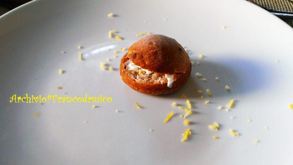 Locanda De Foris – baby panino con burrata e alici