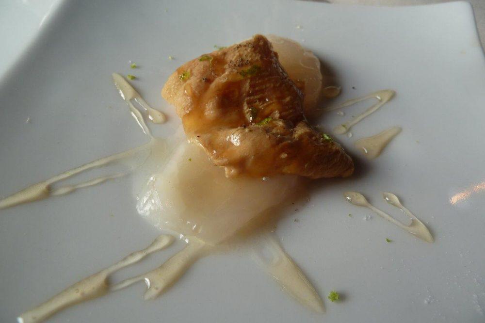 Al Vigneto, capesante e foie gras