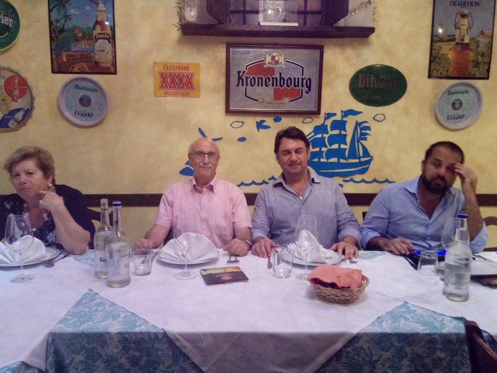 Al centro Enrico Malgi e Paolo Verrone