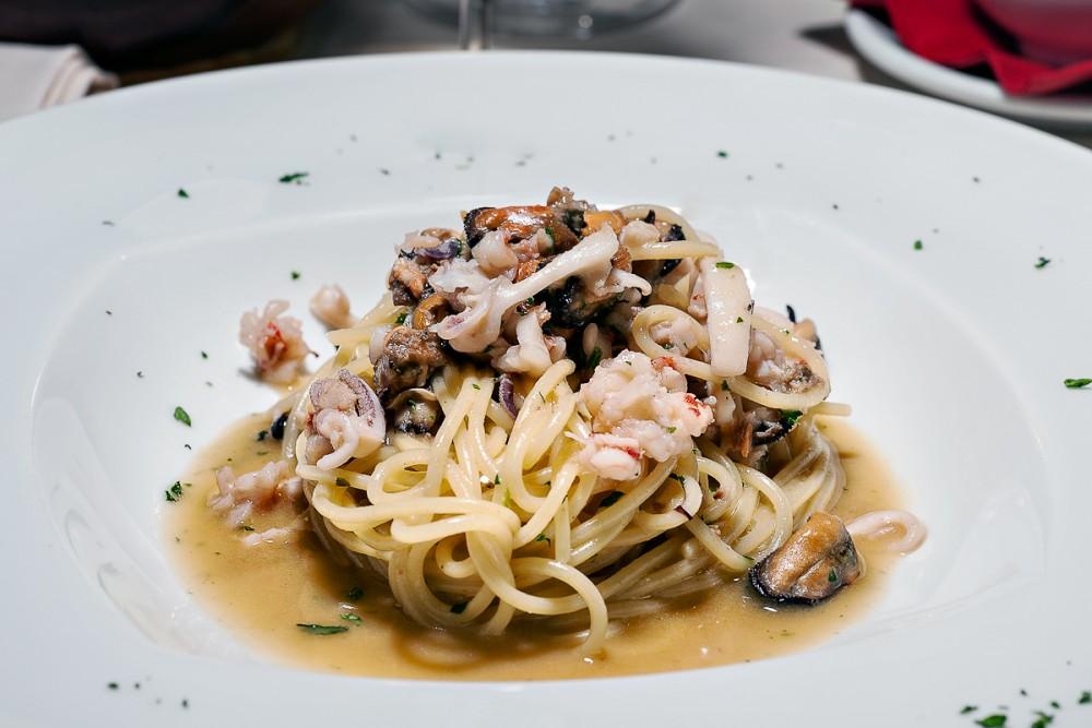 Alex, Spaghetti allo scoglio dello Chef