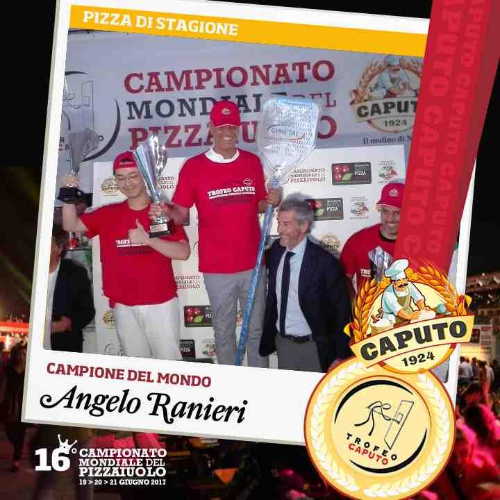 Angelo Ranieri, pizza di stagione