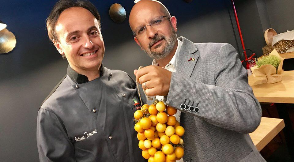Antonio Troncone e Giuseppe Orefice, presidente Slow Food Campania