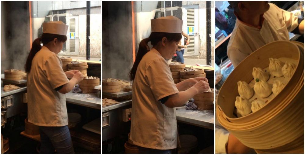 Beijing Dumpling, ravioli in diretta