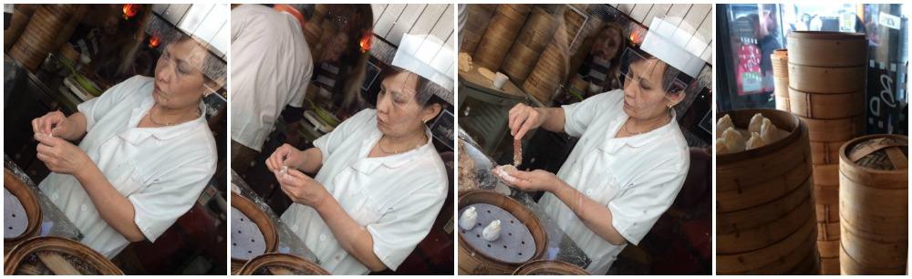 Beijing Dumpling, sfoglina cinese