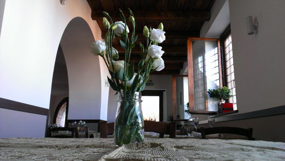 Locanda De Foris, particolare in sala