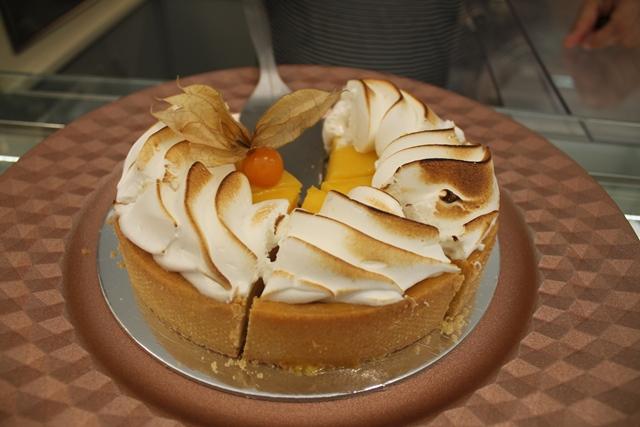 Cafe' Merenda -Frolla con curd di limone e meringa