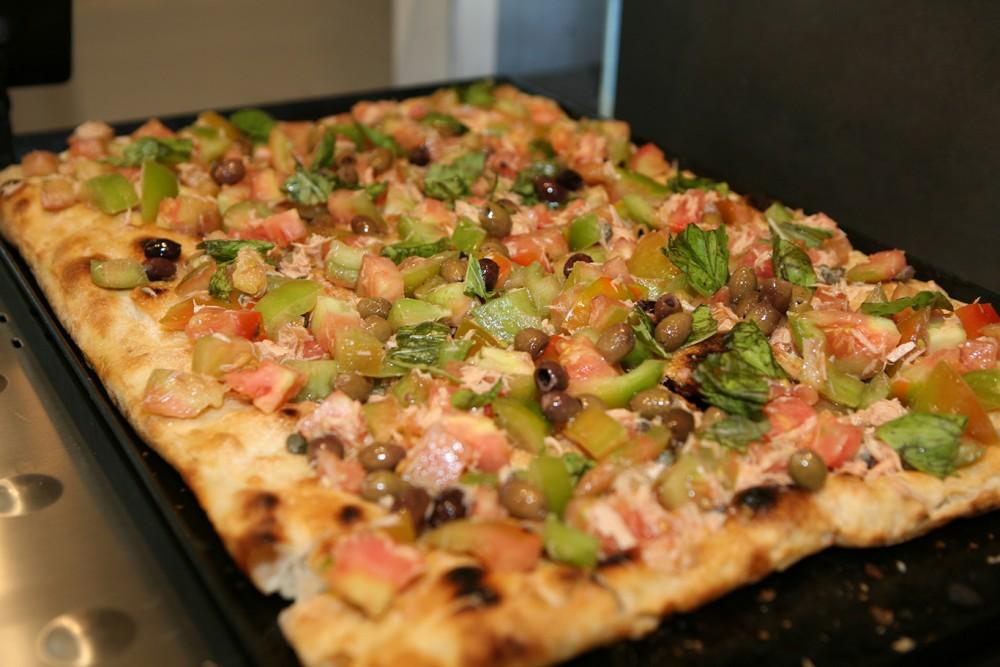 Pizza e panelle - Caponata