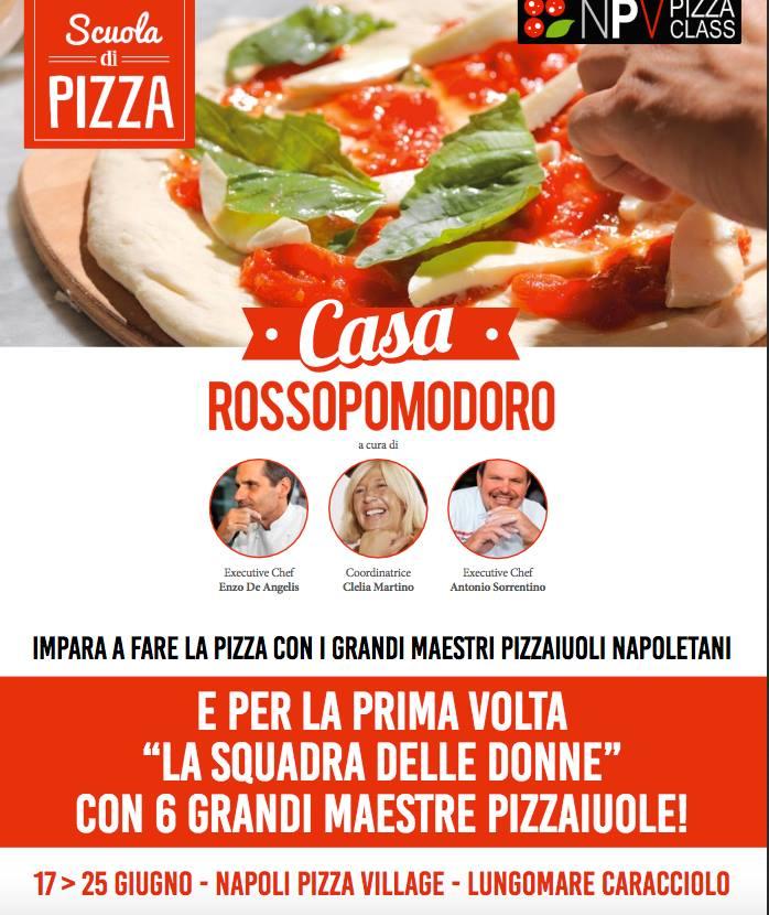 Scuola di Pizza Rossopomodoro