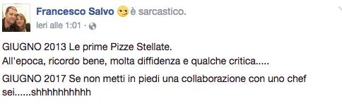 Francesco Salvo su Facebook