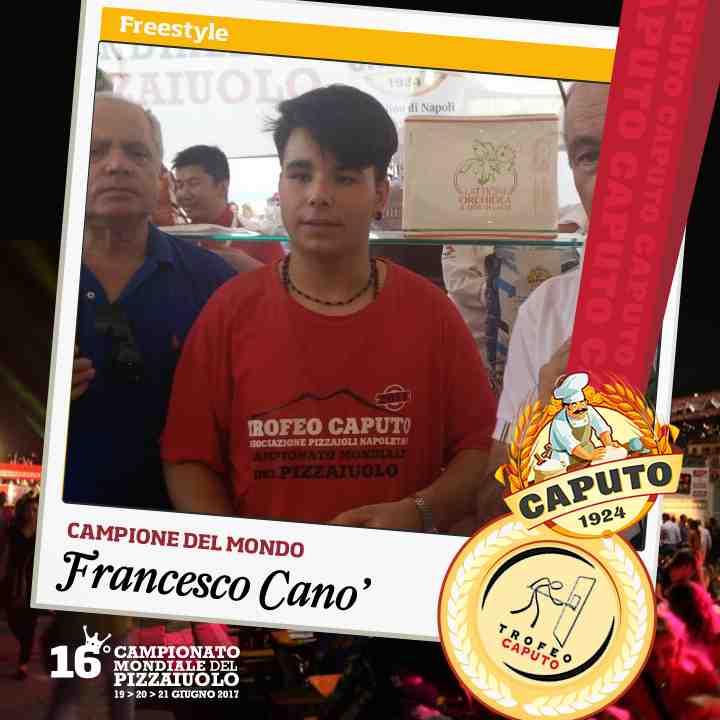 Francesco Cano, campione Free Style