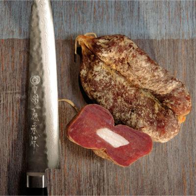 G.ioi srl – piccolo salumificio artigianale Soppressata-Knife