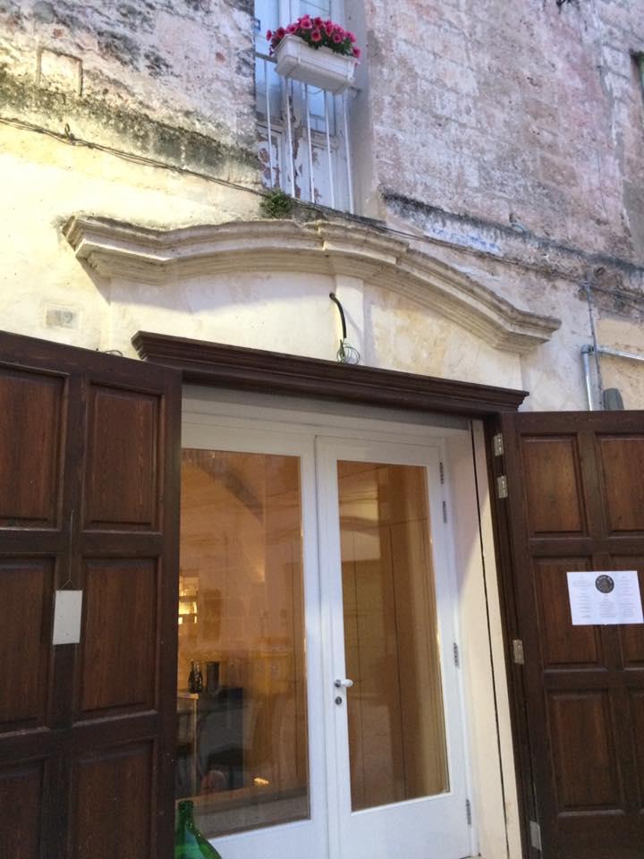 Gatta Buia, ingresso