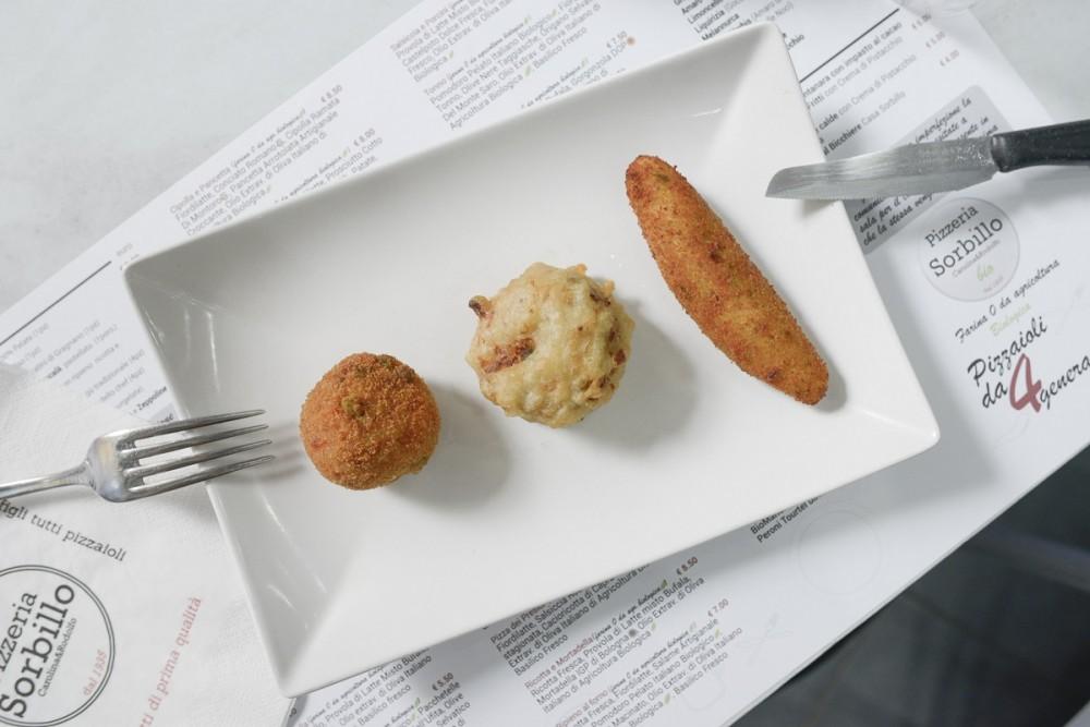 I fritti di Rodolfo Sorbillo