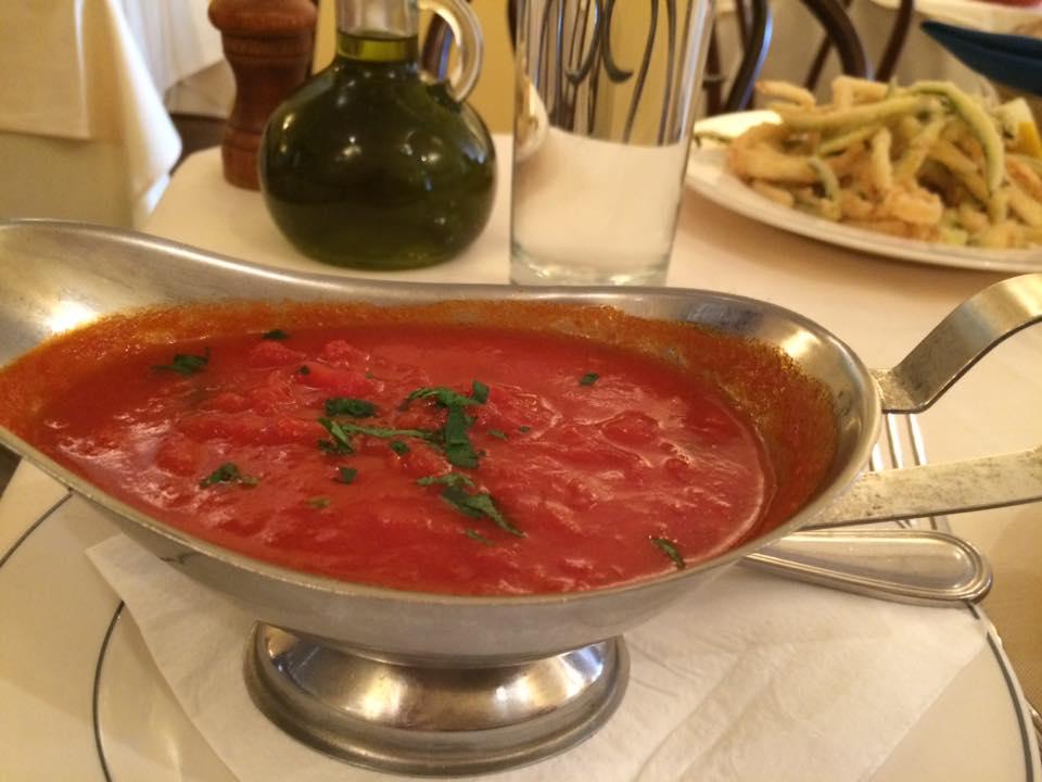 Il Riccio, la salsa per la frittura
