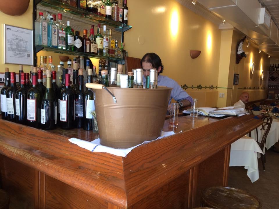 Il Riccio,il banco bar