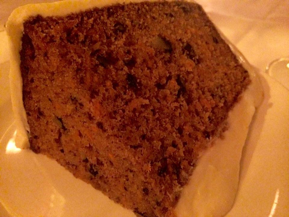 Keens, carrot cake
