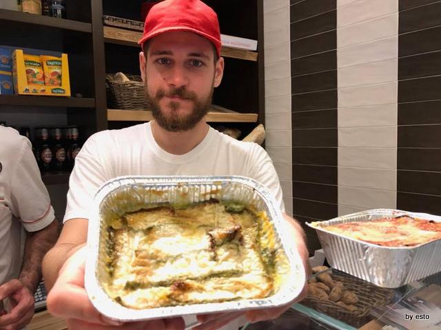 La Focaccia della Signora Mirko Coppola parmigiana di zucchine