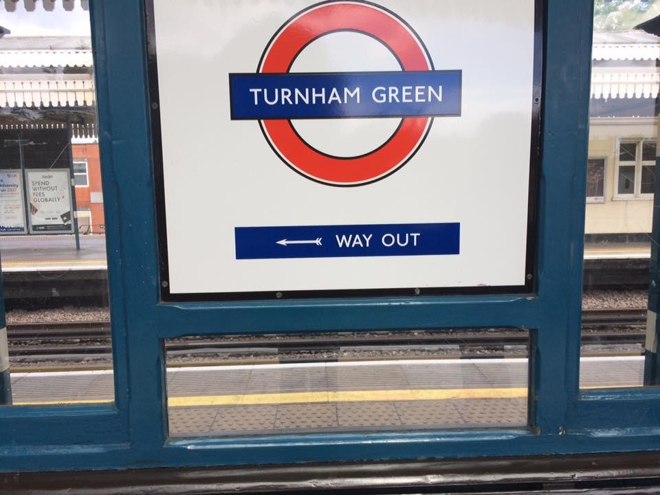 La fermata di Turnham Green