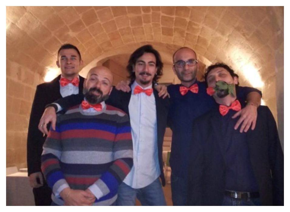La squadra de La Gatta Buia (foto FB)