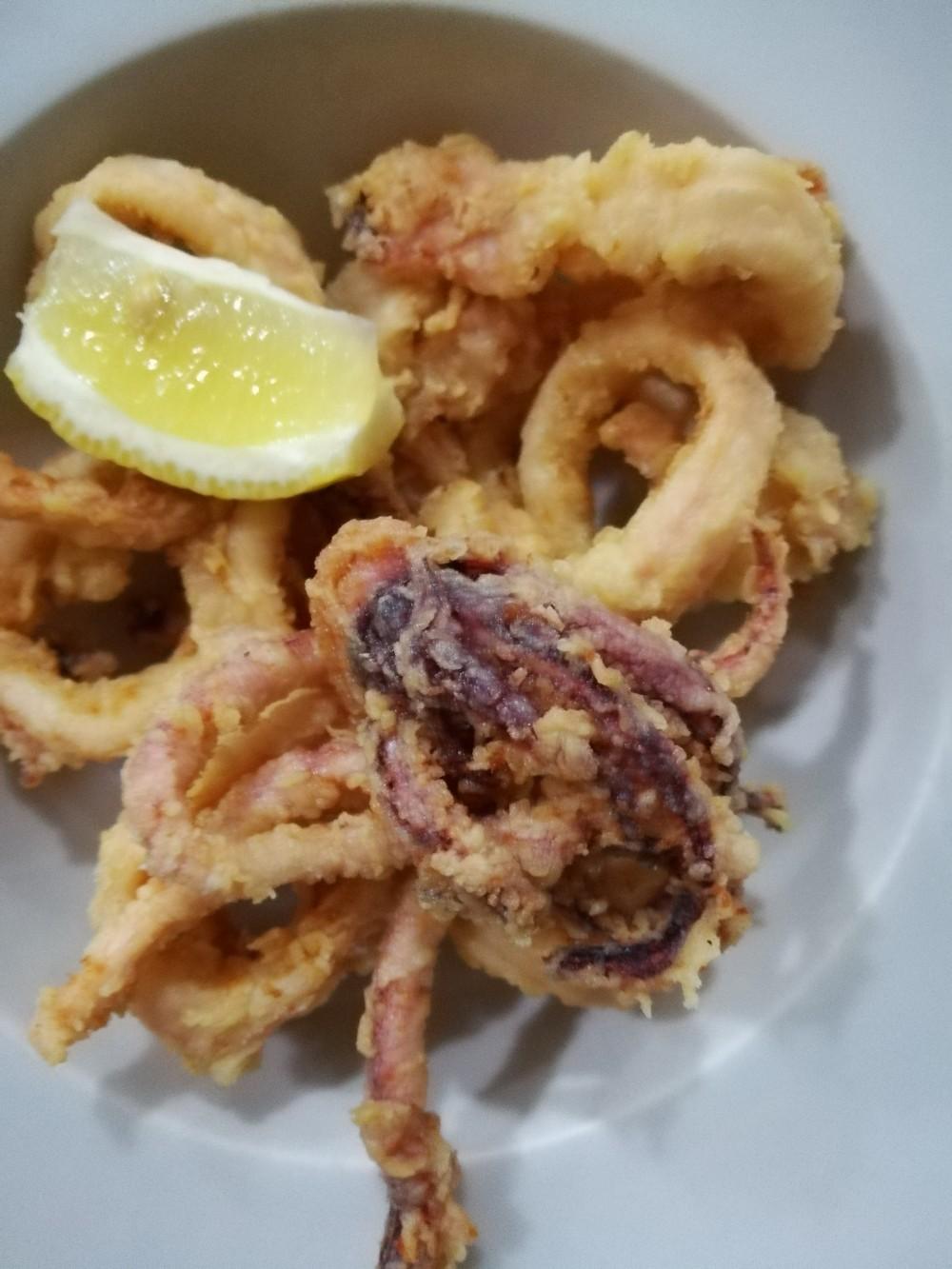 La taverna delle follie - Il Fritto di Calamari