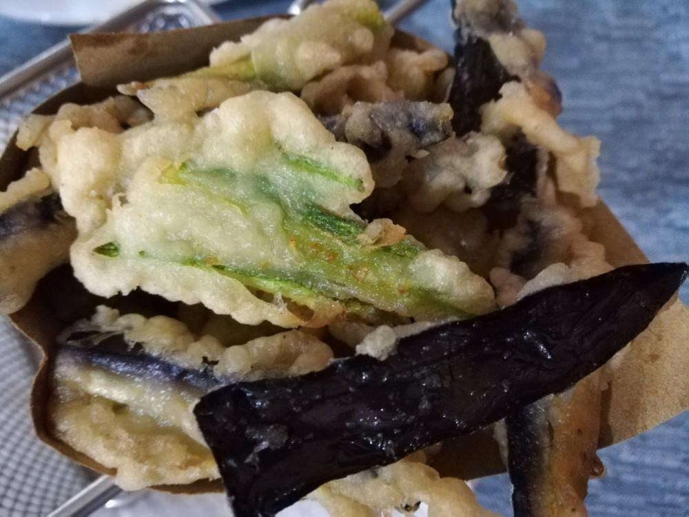 La taverna delle follie - Il cuppetiello di Verdure pastellate