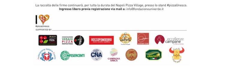 L'arte dei Pizzaiuoli napoletani patrimonio Unesco, sponsor