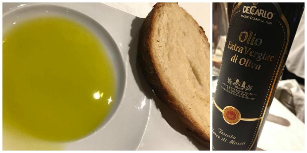 Le Giare, pane e olio