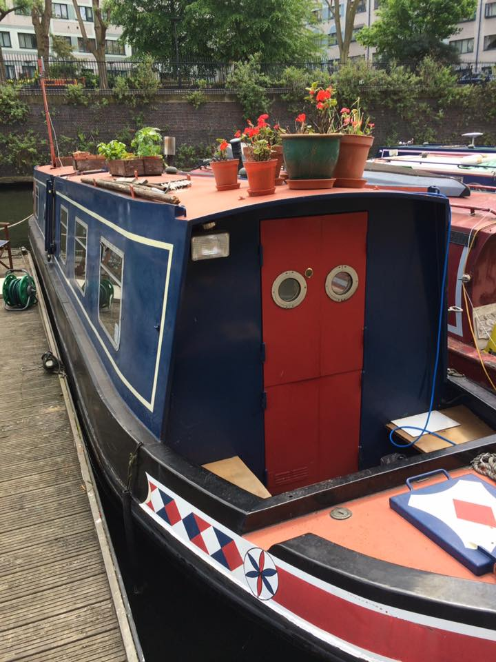 Little Venice, una delle houseboat