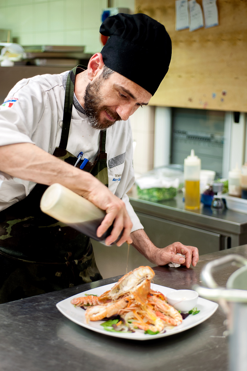 Marco Giannini, chef
