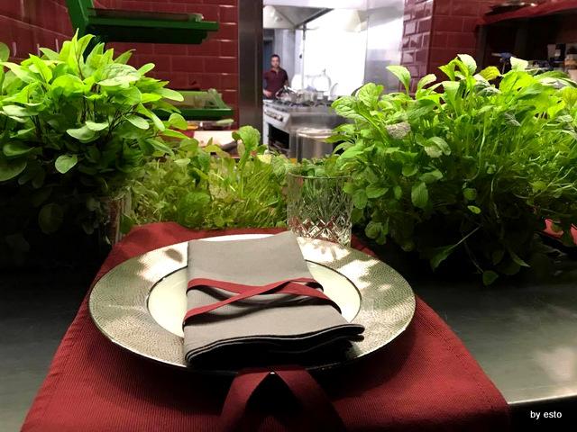 Markus Maurizio De Riggi il tavolo dello chef