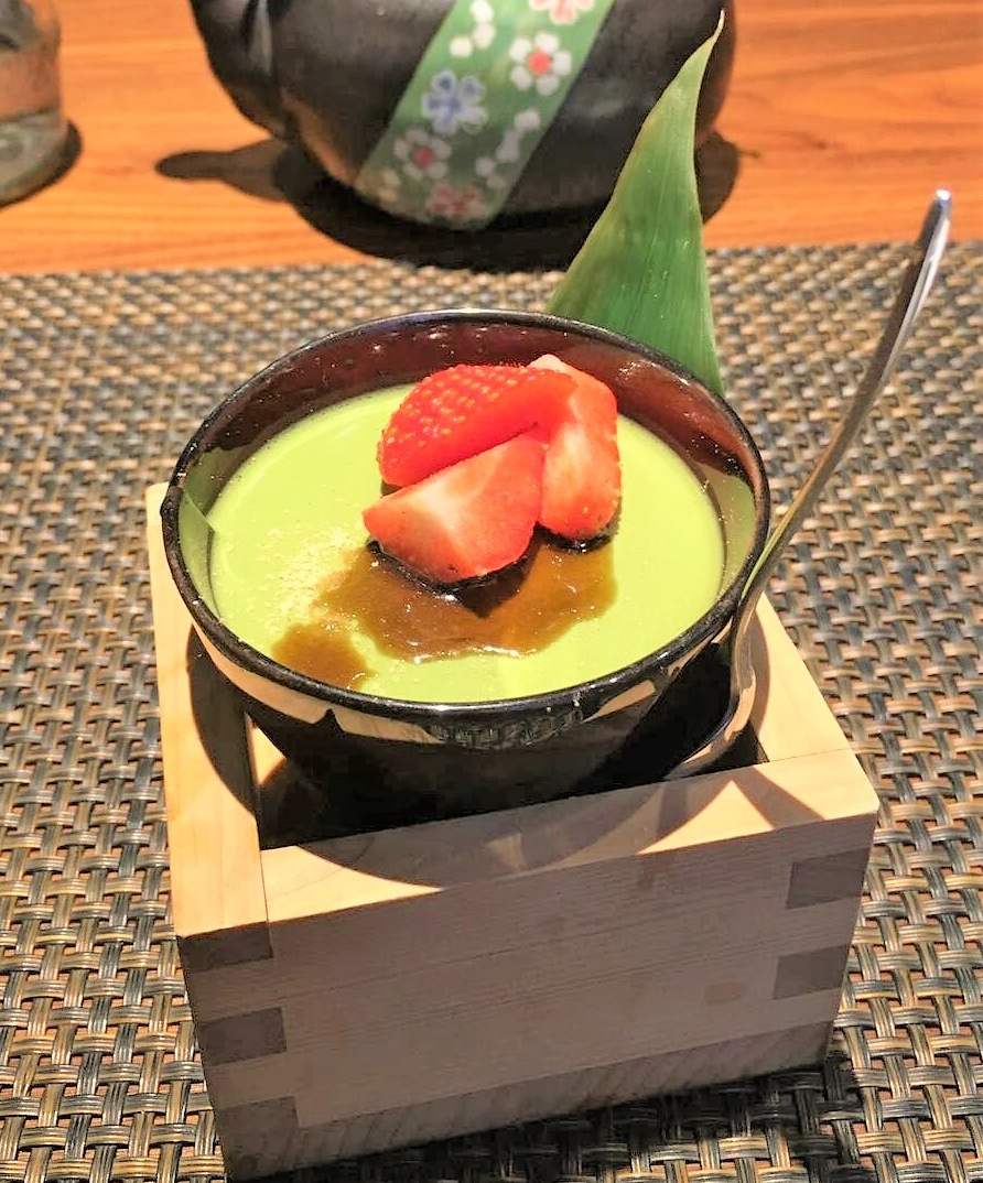 Matcha pudding, Fukurou