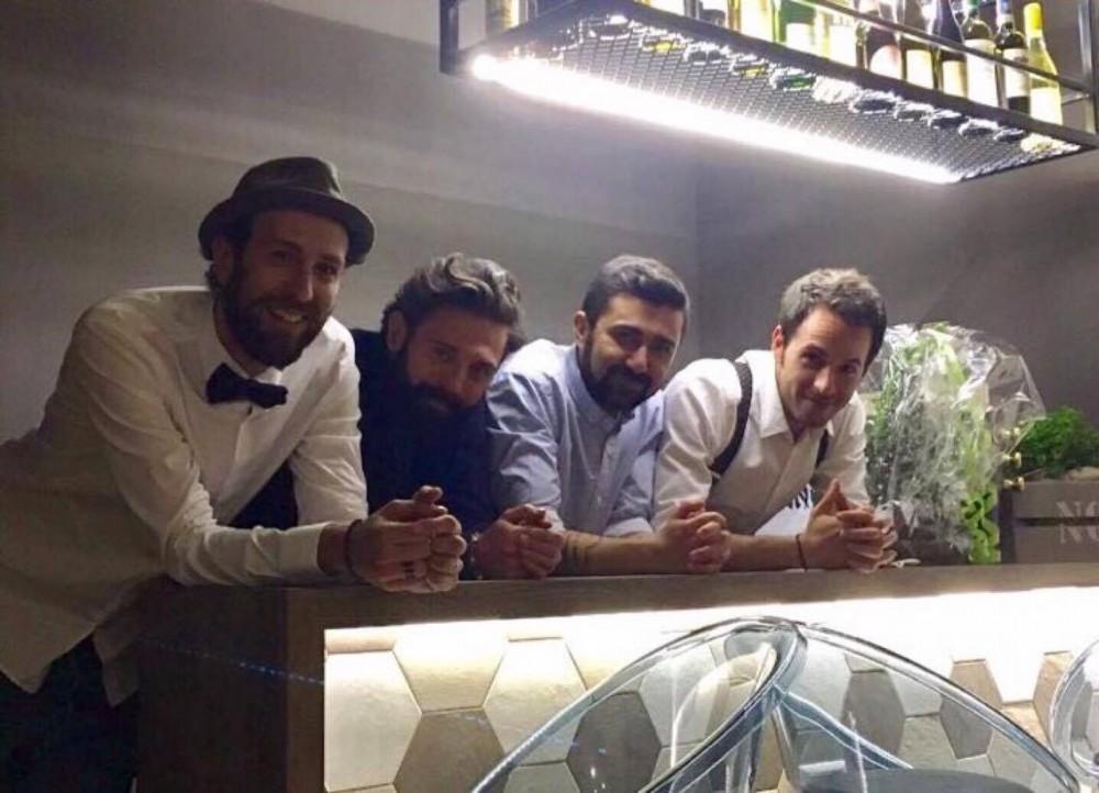 Maurizio Masala, Alfredo Liguori, Stefano Esposito, Danilo Cortimiglia