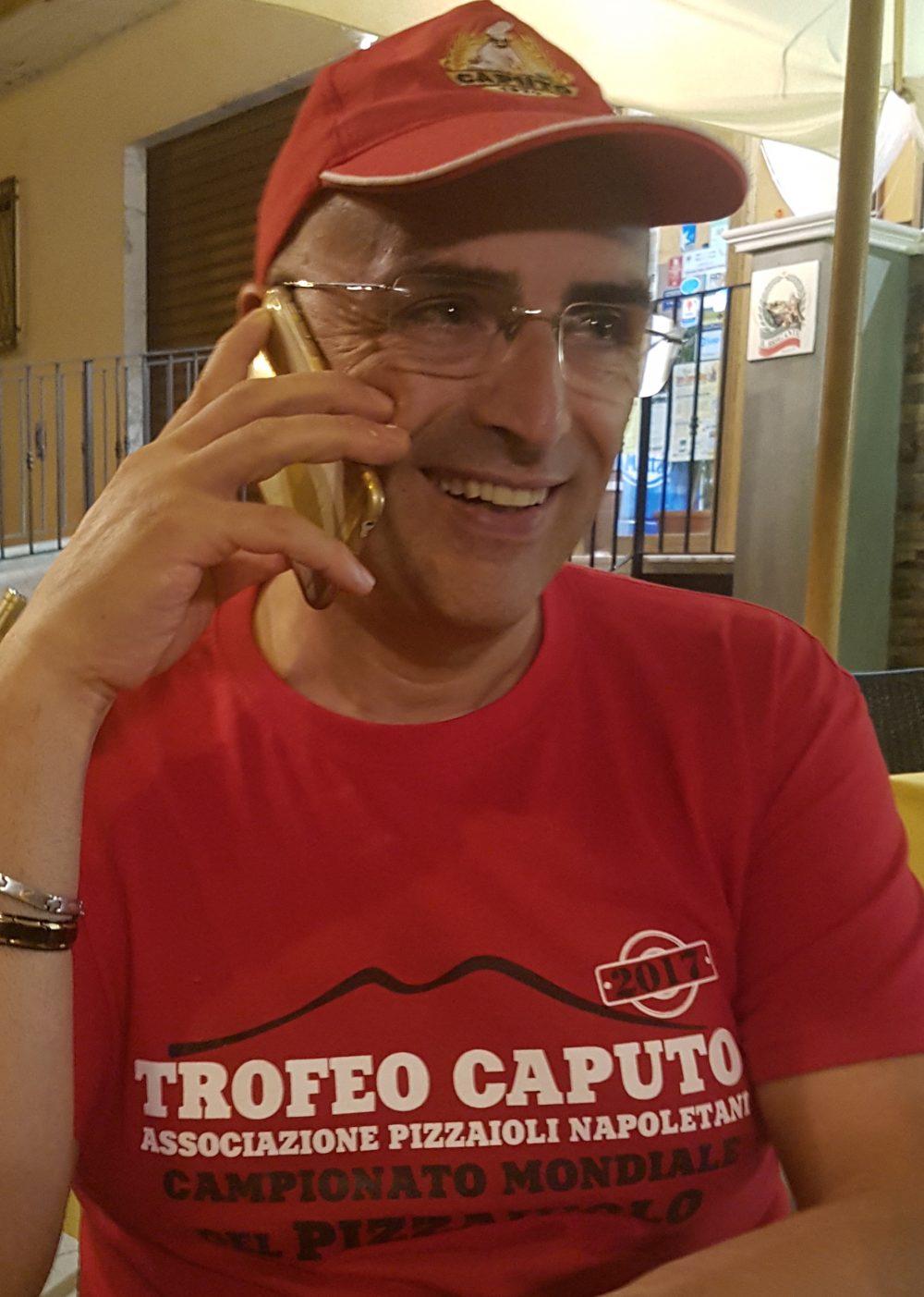 Michele Dileo - campione del mondo - Trofeo Caputo