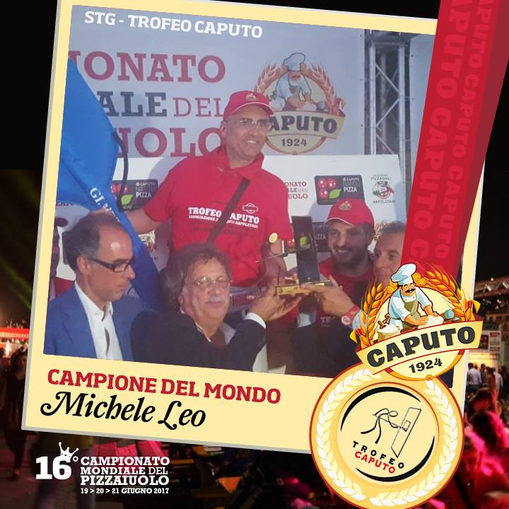 Michele Leo Campione del Mondo TRofeo Caputo