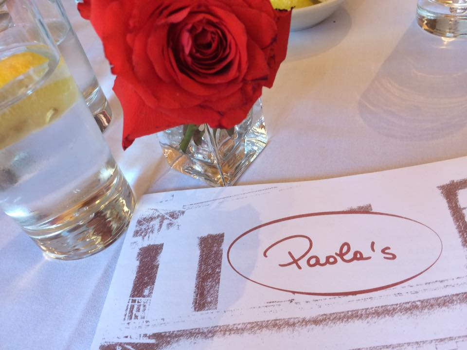 Paola's, il menu
