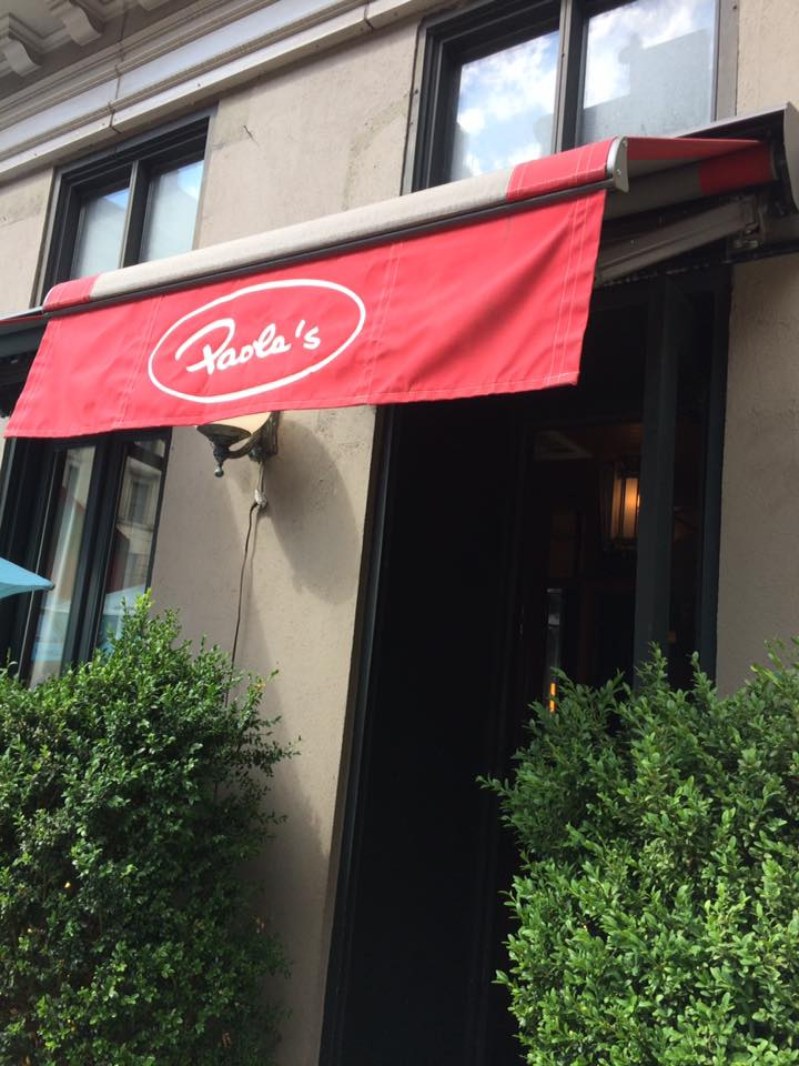 Paola's, ingresso