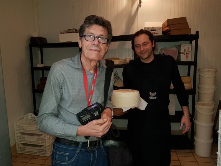 Paolo Amato con Luigi Cremona