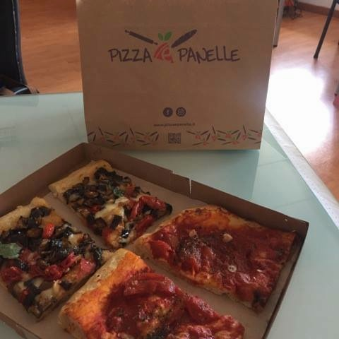 Pizza e Panelle, l'asporto