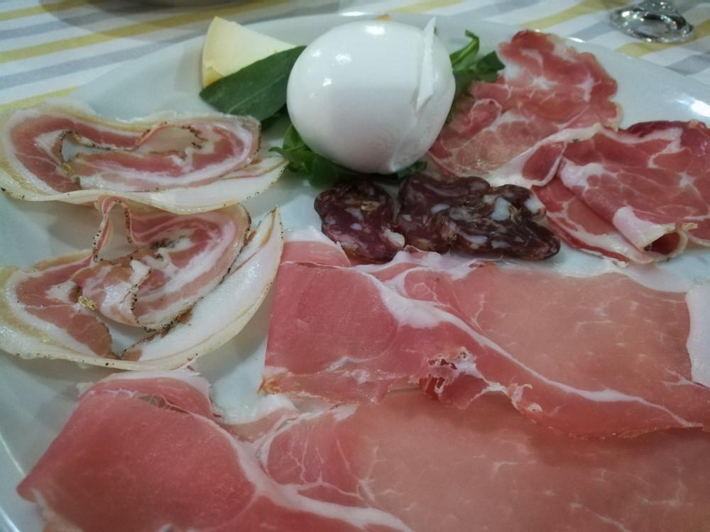 Pizzart - Salumi e formaggi