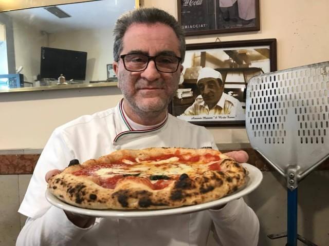 Pizzeria Capasso Gaetano e la pizza margherita