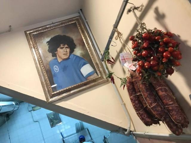 Pizzeria Capasso San Diego Maradona piennolo e salami