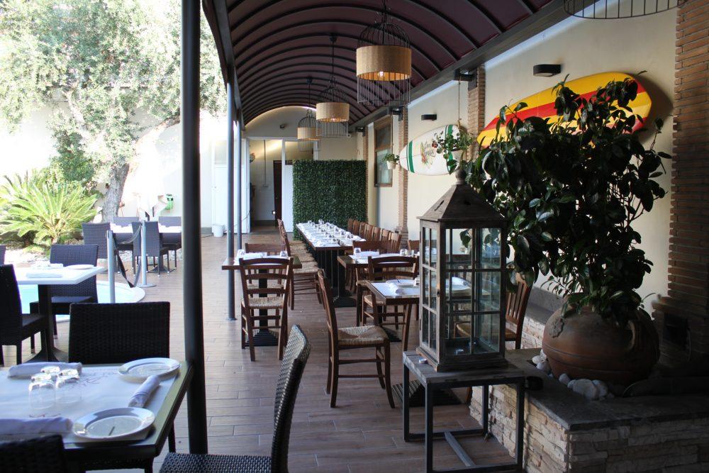 Ristorante Bruschetteria Dom - tavoli in esterno