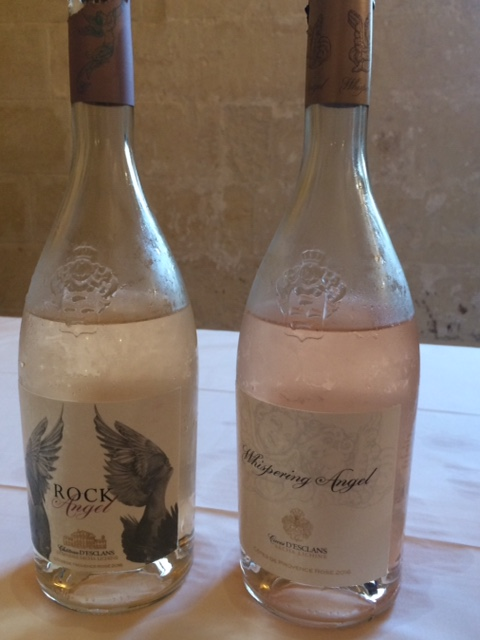 Rock Angel e Whispering Angel di Chateau D'Eclans Cote de Provence 2016