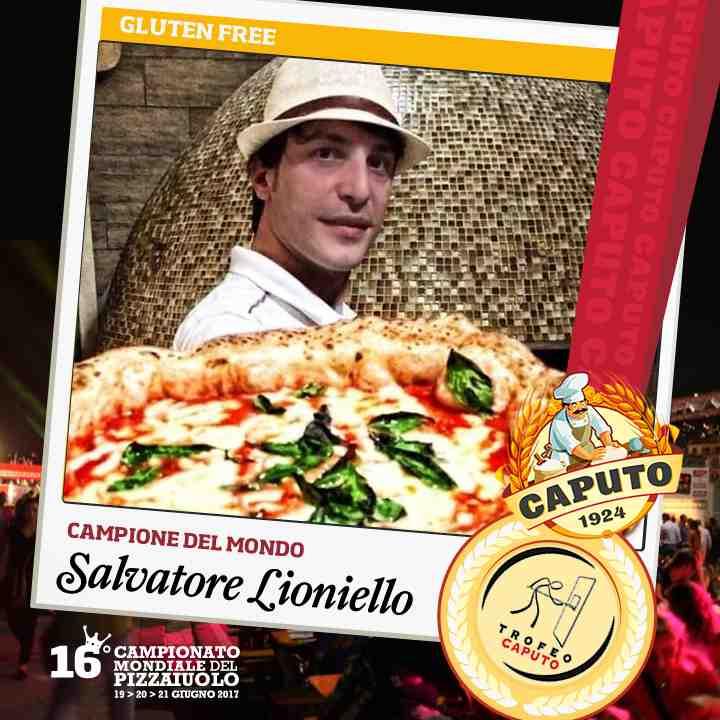Salvatore Lioniello, Campione Gluten Fre