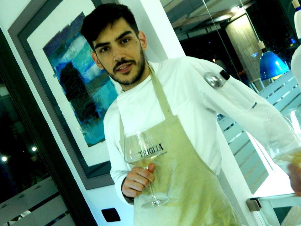 Salvatore Tarantino, responsabile di cucina