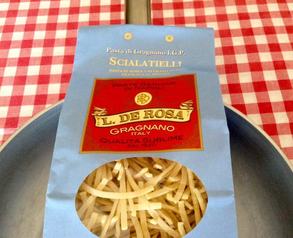 Scialatielli risottati, la pasta di Gragnano