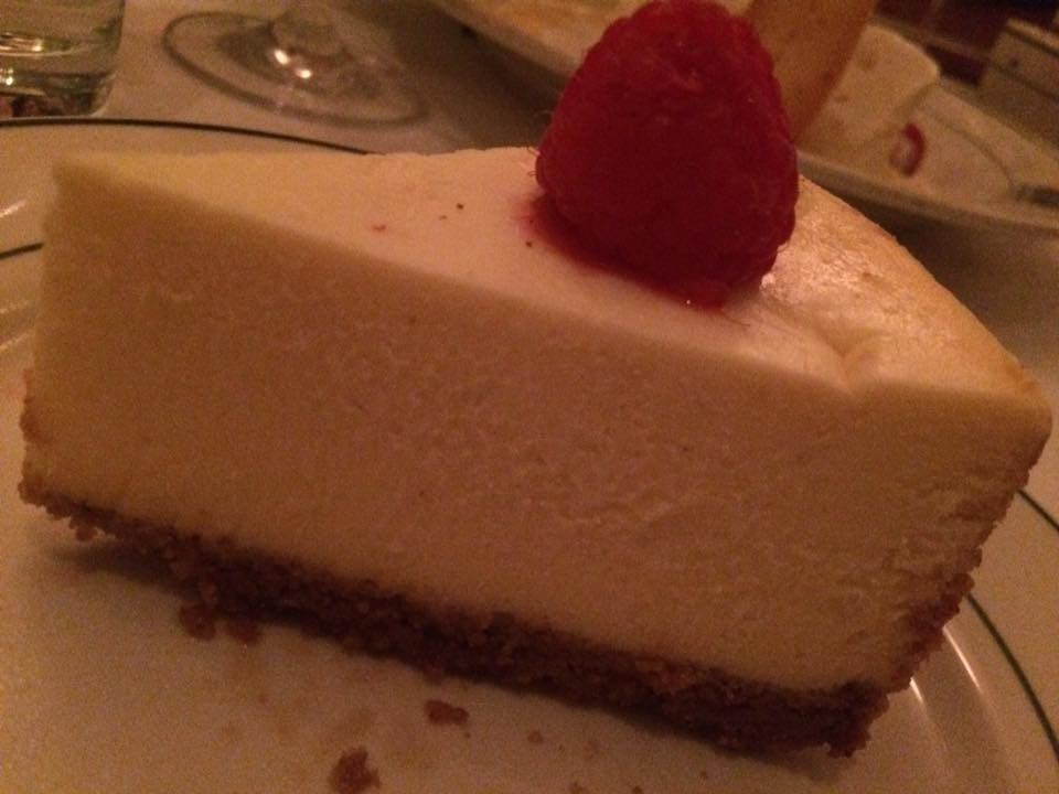 Smith & Wollensky, cheese cake